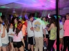 Students gather in the cafeteria for the Glow Dance.