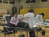 Junior Ryan Hart gets his blood drawn during the blood drive on Thursday, March 22. 