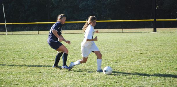 Women&#8217;s soccer tramples Pallotti 8-0