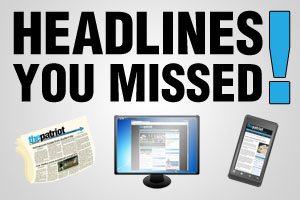 Headlines You Missed: Week of Dec. 8