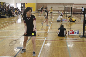 Badminton smashes St. Tim's School