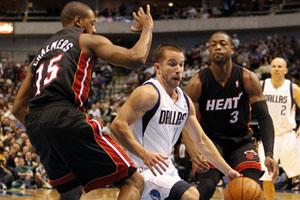 Miami puts the heat on Dallas