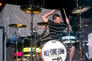 Rian Dawson rocks to the beat of his own drum