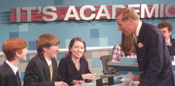 Academic team wins televised competition