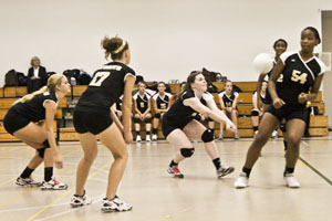 Women's volleyball makes run for championship