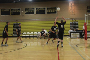 Men's volleyball remains optimistic