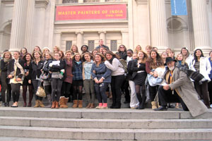 National Art Honor Society spends two days in The Big Apple