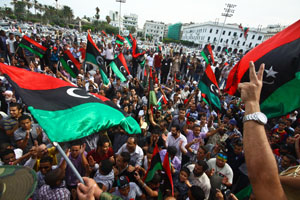 Libyans celebrate death of former leader Moammar Gadhafi