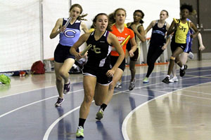Spanish Exchange trip hinders women's indoor track team