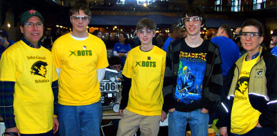 Robotics teams succeed in local competitions
