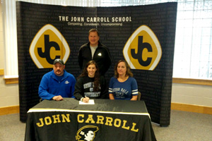 National Letters of Intent signed for soccer, basketball