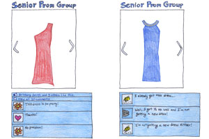 Pro V Con: Facebook dress groups solve fashion conflicts