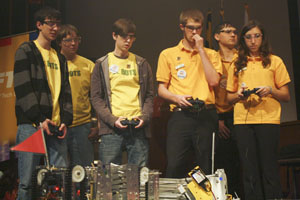 Robotics team finishes up season at state championships