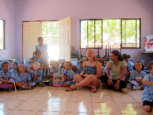 Senior travels to Costa Rica to assist school