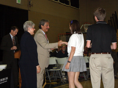 Seniors recognized for exemplary characteristics