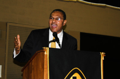 Dr. Hrabowski offers enthralling oration