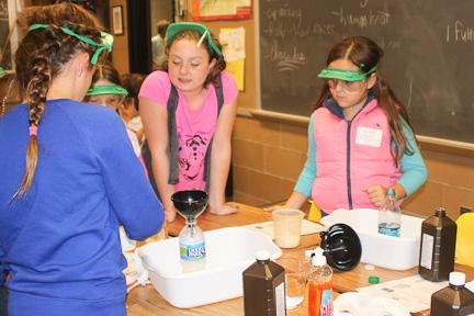 STEM night enlightens prospective students