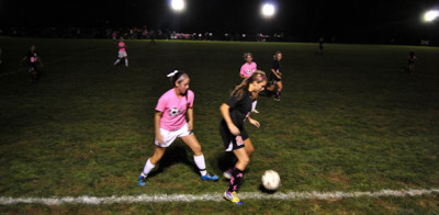 Womens varsity soccer defeats Spalding for first time in six years