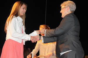 New members inducted into Foreign Language Honor Societies