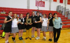 Badminton team brings home championship