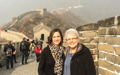 Ball, Zurkowski visit China to meet with potential students