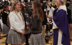 Week in Pictures: senior retreat, Ash Wednesday Mass, It's Academic taping
